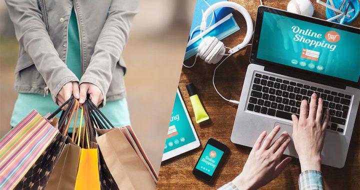 ¿Tienda física o comercio online?