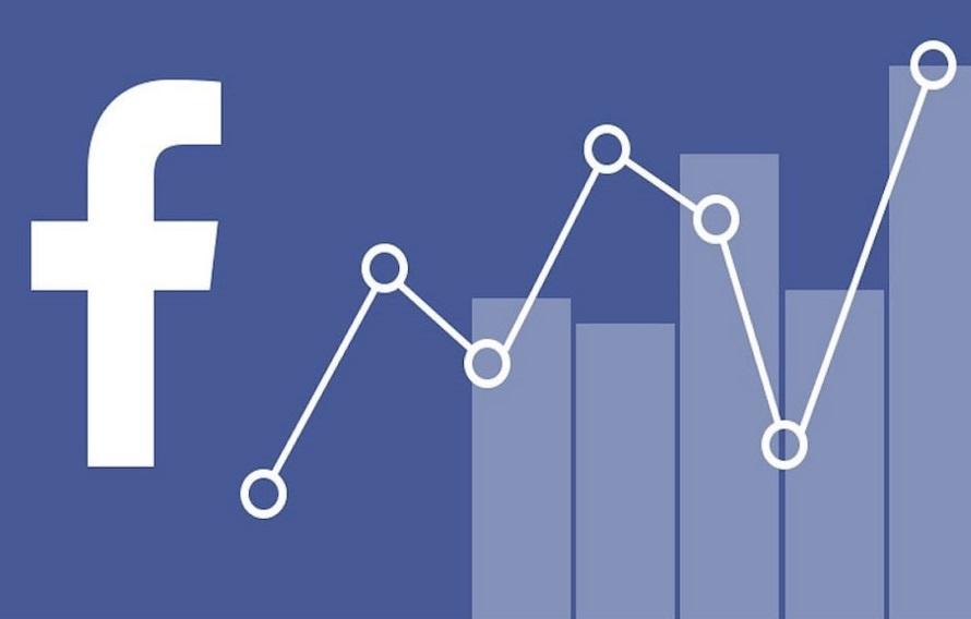 Las estadísticas en Facebook.