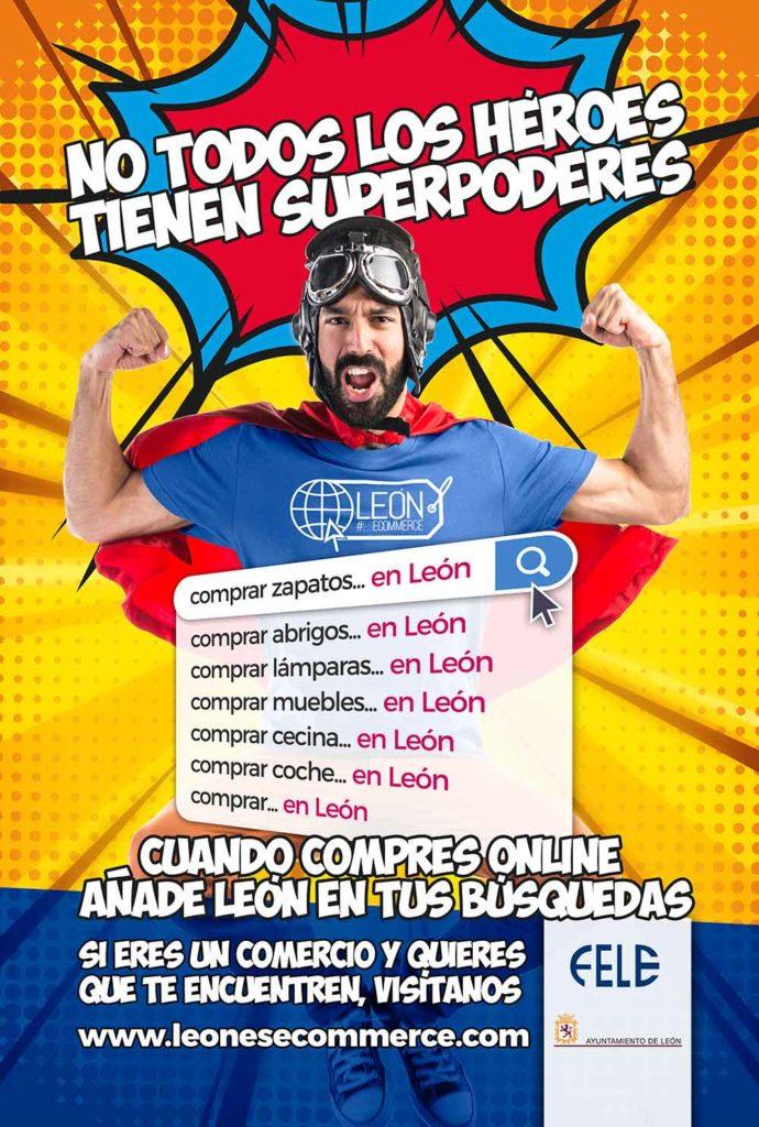 Mupi León#EsCommerce